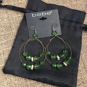 🆕 Bebe Green Earrings
